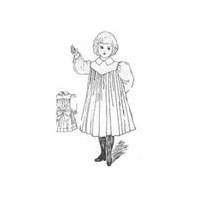 1900 Child's Apron Pattern