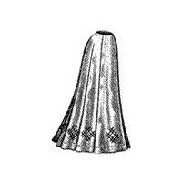 1900's Ladies' Nine-Gored Skirt Pattern