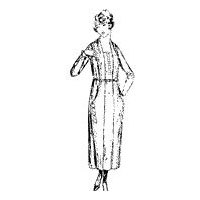 1923-24 Ladies' and Misses' One-piece dress