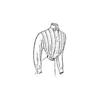 1909 Ladies' Tucked Shirt-Waist Pattern