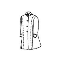 1899 Girl's Coat Pattern