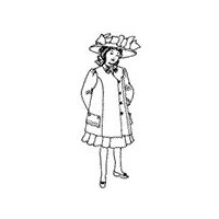 1908 Girls' Suit Pattern