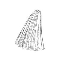 1909 Ladies' Nine-Gored Skirt Pattern