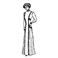 1910 Princess Gown Pattern