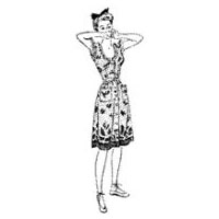 1941-42 Playsuit and Skirt or Bra Top and Shorts