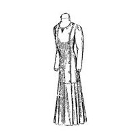 1910 Princess Dress for Misses' or Smaller Women Pattern