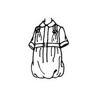1920 Child's One-Piece Rompers Pattern