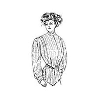 1907 Women's Dressing Sacque Pattern