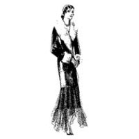 1929 Ladies' and Misses' Coat