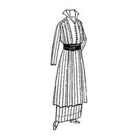 1913-1914 Ladies' Dress