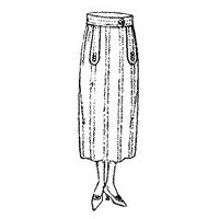 1922-23 Ladies' Two-piece Skirt