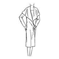 1927-28 Ladies' and Misses' Wrap-around Coat