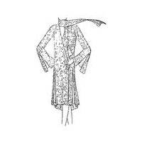 1929 - 1931 Frock for Misses and Women with Godets at Hem Pattern