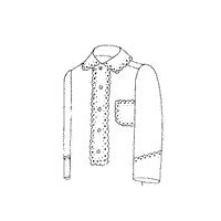 1900 Men's Yoke Nightshirt Pattern