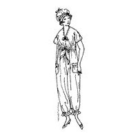 1918 Ladies' and Misses' Pajamas and Cap Pattern