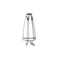 1915 Ladies' Six Gore Skirt