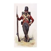 1806-1820 Napoleonic Era British Foot Soldier's Jacket Pattern