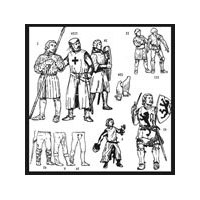 Medieval Military Garments Pattern