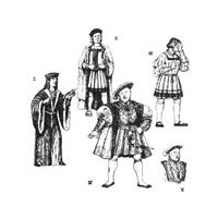 1495-1537 Early Tudor Men's Garments Pattern