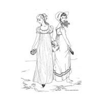 1804 - 1812 Regency Gown Pattern