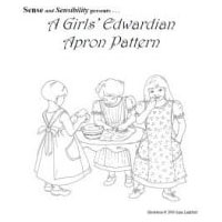 1910-1912 Girl's Edwardian Apron Pattern