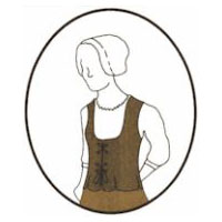 1650 � 1800 English Bodice Pattern