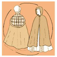 Lady's Cape Pattern