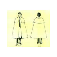 18th Century Men's Cloak Pattern