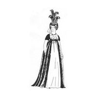 1795 - 1825 Overdress Pattern