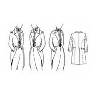 1830's, 1840's, and 1850's Dress Men's Dress Coat Pattern