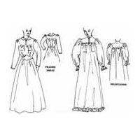 Prairie Dress or Victorian Nightgown Pattern