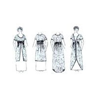 1910 - 1915 Titanic Era Gown & Overdress Pattern by Wingeo