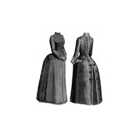 1887 Demi-Season Cloak Pattern