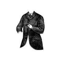 1868 Man's Lounging or Neglig� Jacket Pattern
