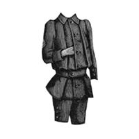 1891 Norfolk Suit for Boy 7-9 Years Pattern