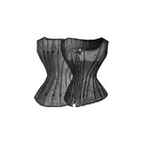 1886 Lady's Corset Waist Cover