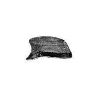 1870 Straw Cap for Boy 8-10 Yrs