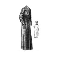 1912 Cloth Duster Pattern