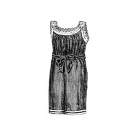 1891 Bathing Dress for Girl 9-11 Years Pattern