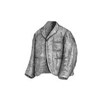 1870 Gray Smoking Jacket Pattern