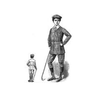1910 Boy's Norfolk Suit & Cap Pattern