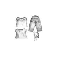 1869 Necessities for Girl 6-8 Years Pattern