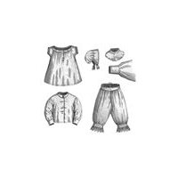 1869 Necessities for Girl 8-10 Years Pattern