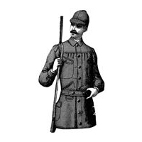 1887 Gentleman's Shooting Jacket & Cap Pattern