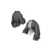 1863 Jacket & Vest with Shawl Collar Pattern