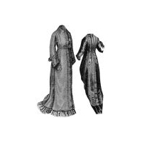 1877 Waterproof Cloak Pattern