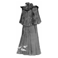 1894 Traveling or Storm Cloak Pattern