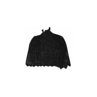 1894 Black Lace Cape Pattern