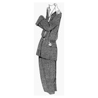 1922 Tailored Suit for Young Girl Pattern