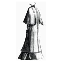 1900 Wool Traveling Coat Pattern
